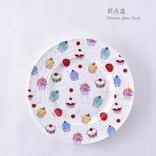 Bone China White Plate Korean Pure Breakfast European Designer Dessert Tableware Western Steak Home Decoration
