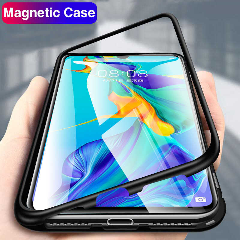 Magnetic Case For Huawei P30 Pro P30 Lite P30Pro P 30Pro P 30 Back Covers For Honor 10 Light Hawei P20 Mate 20 Pro Y9 2019 Coque