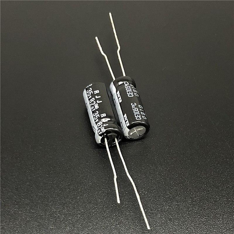 20pcs 35V 33uF 35V ELNA RVJ 8X6.5mm SMD Electrolytic Capacitor