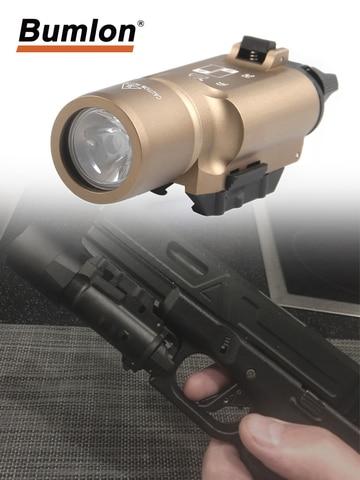x300 19 luz arma de caca militar tatico lanterna de aluminio lanterna glock pistol lanterna