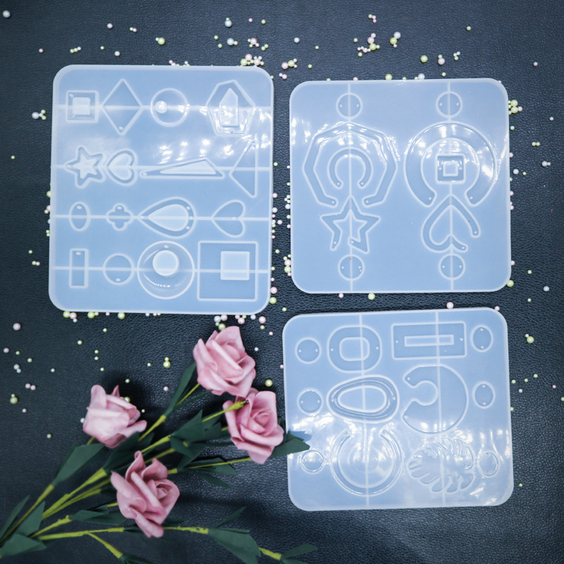 New Style Earring Jewelry Molds UV Resin Molds Jewelry Accessories DIY Handcraft Tools