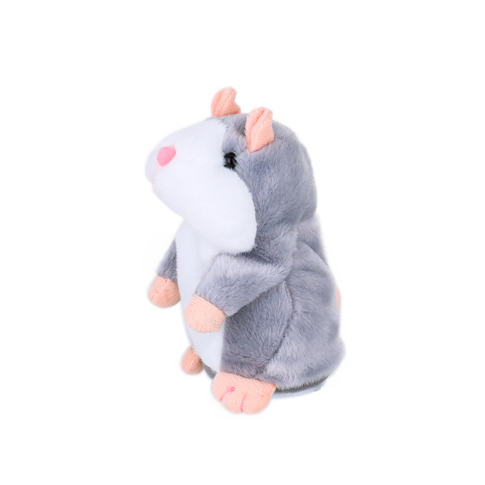 Cheeky Mouse Repeats What You Say Electronic Pet Talking Plush Toy Cute Talking Toys Speaking Toy Sound Record