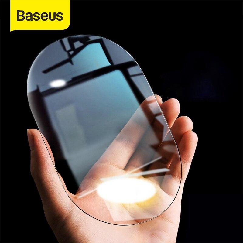 Baseus-Película protectora de espejo retrovisor para coche, 2 uds., 0,15mm, antiniebla, para ventana, impermeable, a prueba de lluvia