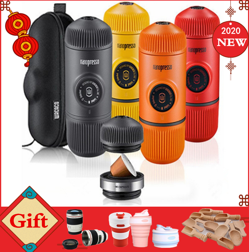 Wacaco Minipresso Coffee Maker Handpress Capsule&Powder Coffee Machine Manual Espresso Machine Portable Outdoor Travel Coffee
