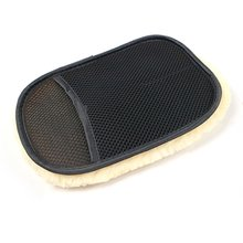 Auto-Styling Zachte Wol Wasstraat Washandjes Auto Care Car Cleaning Microfiber 210*140Mm Auto Detailing gereedschap tanie tanio Cn (Oorsprong) Sponges Cloths Brushes