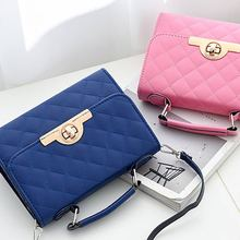 2019 Women Fashion Luxurious Handbag Female Hasp Diamond Plaid Shoulder Bags  Shopping Traveling Soft