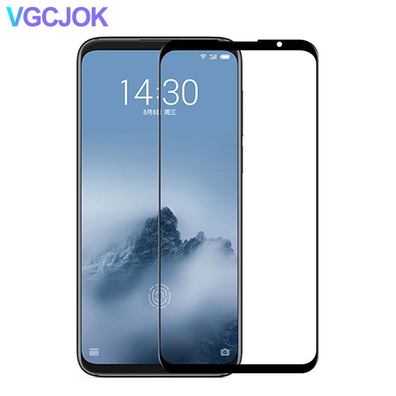 Full Cover Tempered Glass On The For Meizu 16 16s 16th 16X 16XS Screen Film For Meizu X8 M8 M6 Note 8 9 M6T M6S Protective Glass