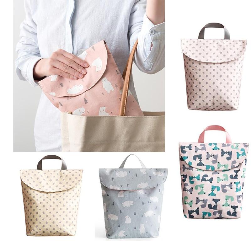 Multifunctional Baby Diaper Nappy Bags Mother Nursing Handbag Reusable Fashion Diaper Organizer Portable Big Capacity Mummy Bag