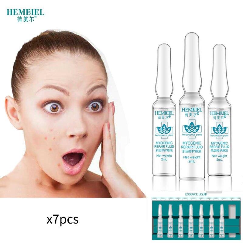 HEMEIEL Ampoule Face Serum Treatment Acne Marks Remove Natural Essence Facial Whitening Anti Aging Moisturizing Skin Care