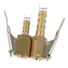 1 шт. автомобильный воздушный насос зажимной зажим для автомобильных грузовых шин насос клапан разъем для автомобиля 6 мм 8 мм Зажим инструменты для ремонта шин