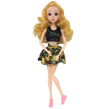 Doll Dress Camouflage Clothes For 30cm 1/6 Jointed Boyfriend Accessories