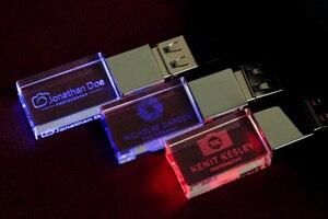 Image 5 - 2ydream (10pcs free logo) flash crystal USB 2.0 flash drive 4GB 8GB 16GB 32GB 64GB USB FLASH DRIVE