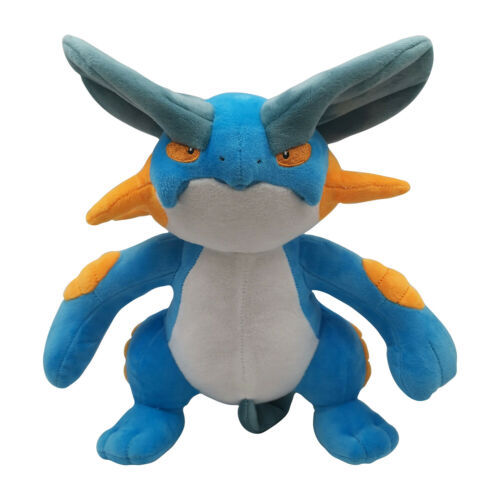 30cm Mega Swampert Cartoon Anime Figure Toy Plush Stuffed Collectible Toy Christmas Gift Stuffed Animals