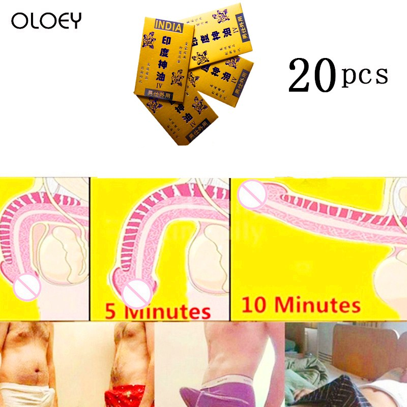 20Pcs  Male Erotic Toys Delayed External Enlargement Sexual Massage Wet Towel Sexual Adult Erotic Toys Men Essence Delayed