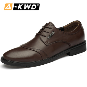 Black Brown Men's Shoes Casual Shoes Fashion Lace-up Oxford Shoes for Men Breath Leather Genuine Sneakers Mocassin Homme De Luxe