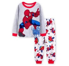 Kids Pajamas Sets Sleepwear Underwear Cotton Long Sleeve Baby Girls Clothes Children Clothing Suit Costume Top + Pants Tracksuit(China)