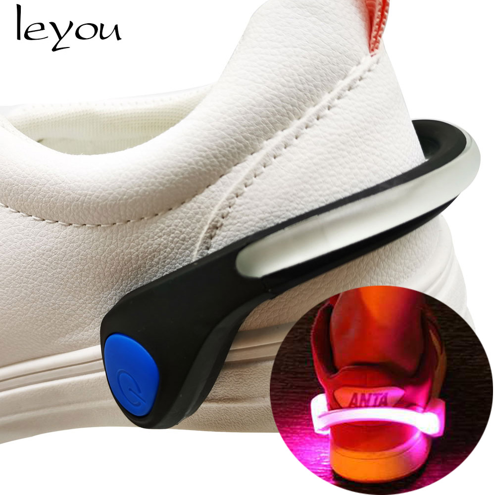 Led Shoe Clip Light Shoelaces Led Warning Light Shoe Accessories For Adult And Children Kids Shoe Lighter Luminous Shoe Clip