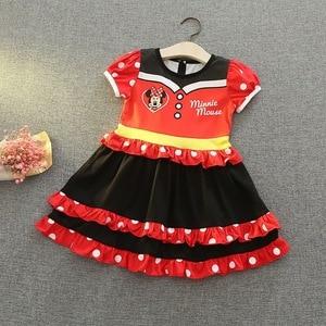 Image 5 - תינוקת קריקטורה שמלת שלגיה נסיכת סופיה קוספליי שמלת ילדה תינוק בגדי E5099