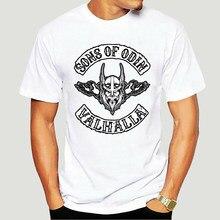 Erkekler t gömlek SONS OF ODIN tişörtleri kadın t-shirt-4646A