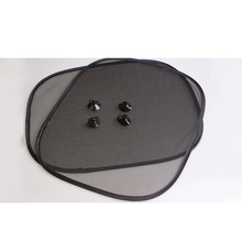 Sunshade-Cover Side-Rear-Window Screen Visor-Shield Solar-Protection 4-Suction-Cups Black