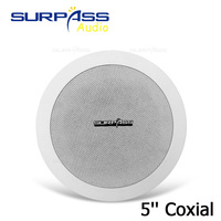 5INCH Ceiling Speaker PA System Pro Audio Background Music Speaker Passive Ceiling Speaker For Restaurant Hotel Sound System
