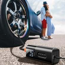 Электрический портативный автомобильный воздушный компрессор