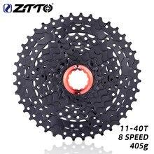 ZTTO MTB 8 Geschwindigkeit 11-40T Kassette Mountainbike Fahrrad Teile 8 s 40t Freilauf 8 s kettenrad 8v schwarz für K7 Teile M360 M410 M310