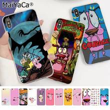 Funda de teléfono para iphone 11 pro 8 7 66S Plus X XS MAX 55S SE XR con dibujos animados divertidos de MaiYaCa(China)