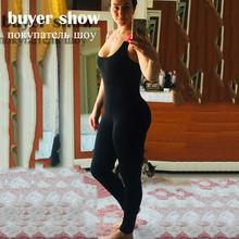Женское боди без рукавов слитный спортивный костюм облегающие