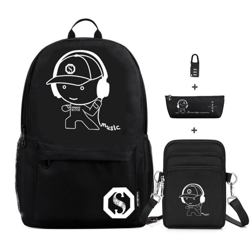 2020 New Cartoon School Bags For Boys Students Backpack Bag Waterproof Oxford Kids Primary School Bookbags For Teenage Girls