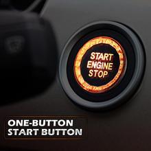 Автомобильный нажатием одной кнопки старта и кристальными пуговицами E шасси одноклавишный выключатель крышка для BMW 3/5 серии X1/3/5/6, автомобильные аксессуары