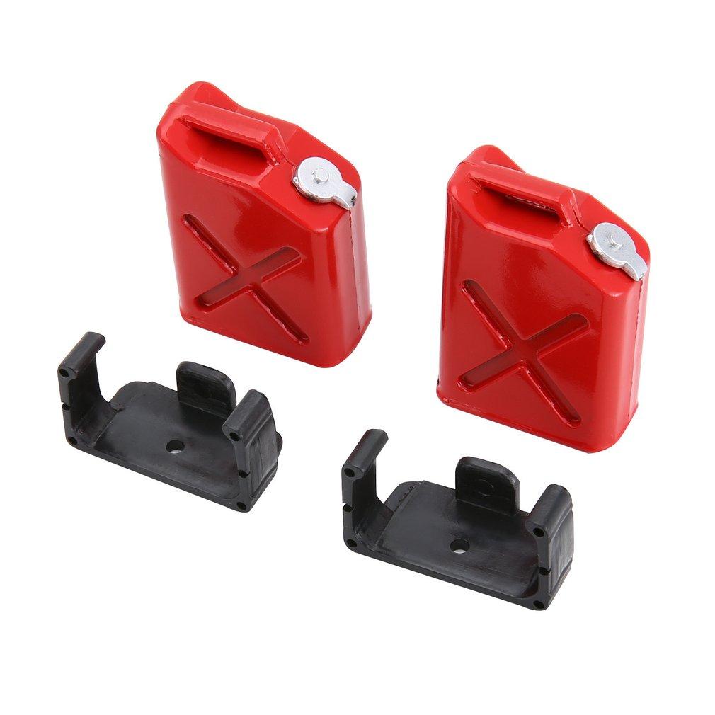 Plastic Fuel Tank Mini Fuel Tank Decoration For 1/10 Axial SCX10 D90 D110 RC4wd Rock Crawler RC Car Model Parts Accessories