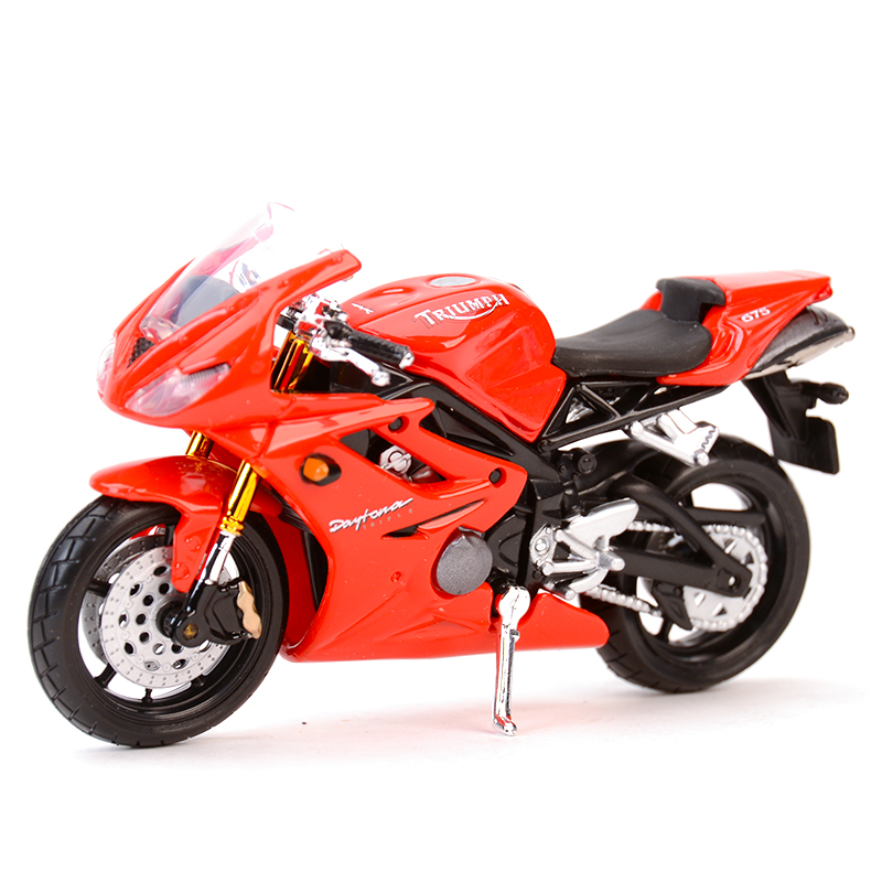Maisto 1:18 Triumph Daytona 675 955i Speed Triple Sprint RS Thunderbird Diecast Alloy Motorcycle Model Toy