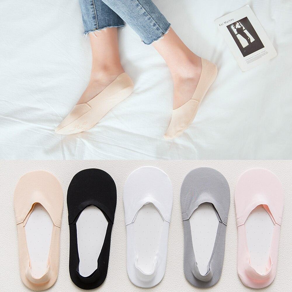 Носки женские короткие х/б с кружевом, 1 пара