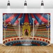 Laeacco сейчас s время цирк на сцене палатка Животные выставочный