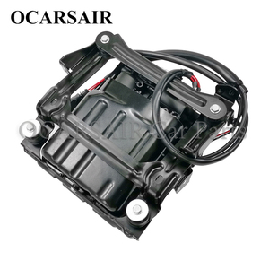 Image 2 - For Porsche Panamera 970 2010 2015 Air Suspension Compressor with Bracket and Shell Oem#97035815107 97035815108 97035815109