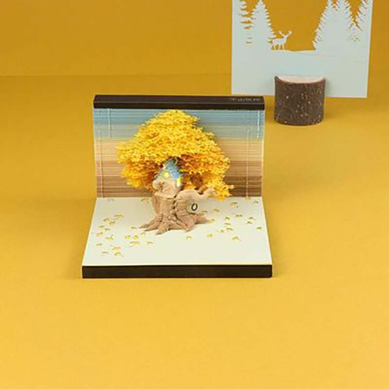 3d tree house post-it notes 3d tree House surprise creative birthday gift amazing display of beautiful packaging