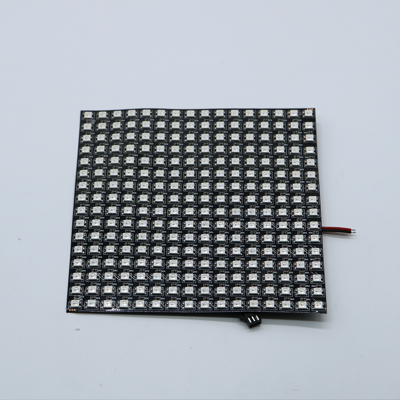P10mm 16*16 Pixels 256leds Flexible Mini Led Matrix Ws2812 WS2812b DC5V