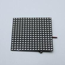 цена на P10mm 16*16 pixels 256leds flexible mini led matrix ws2812 WS2812b DC5V