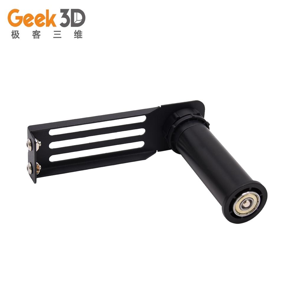 3d impressora de alumínio forte pla abs suporte filamento fixo suporte rack filamento suporte para CR-10 Ender-3 peças impressora 3d