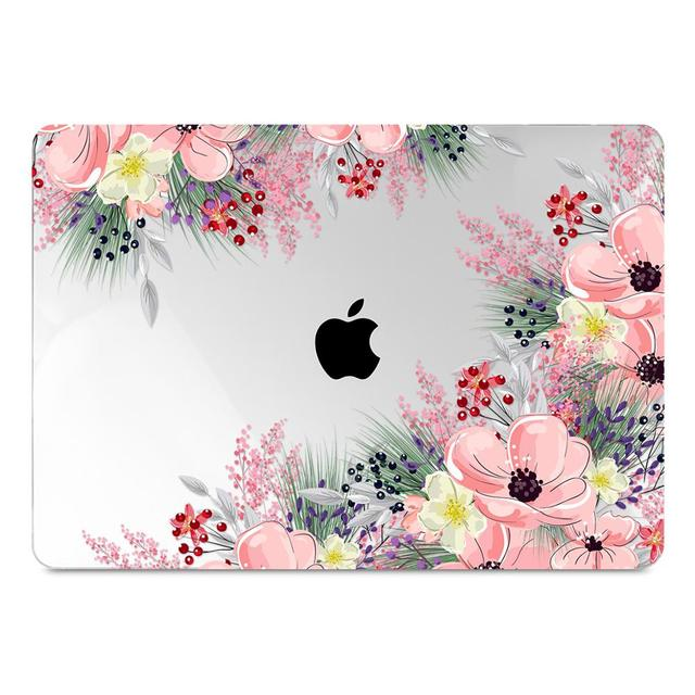 Floral Printing Hard Case for MacBook 3