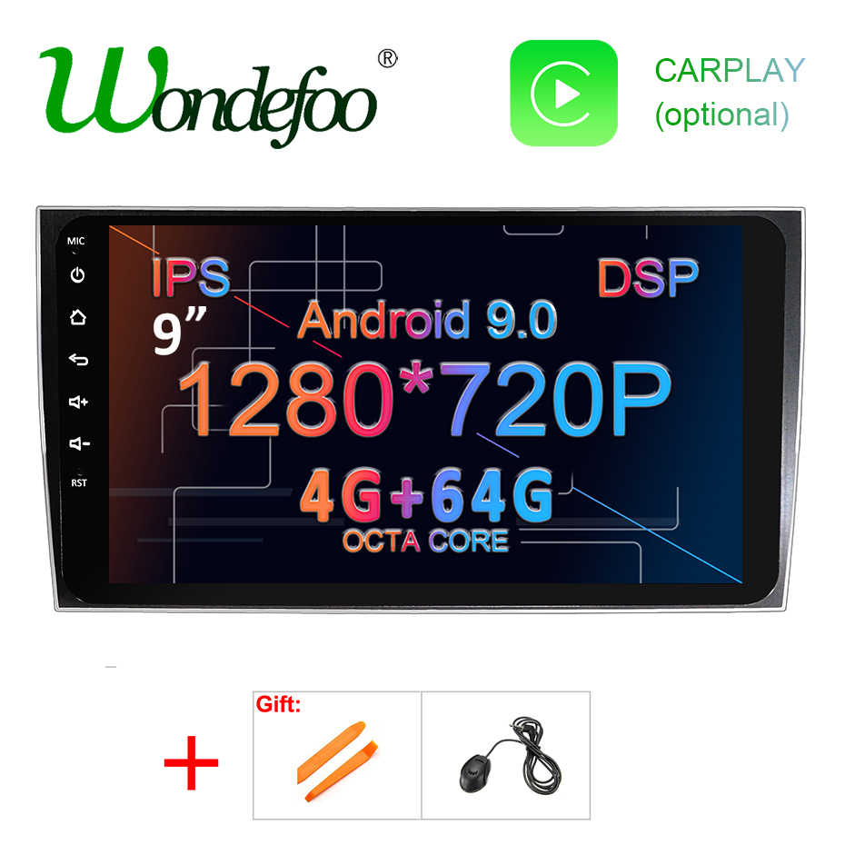 Dsp ips android 9.0 64g carro dvd multimídia gps para porsche cayenne 2003-2010 & cayenne s 2003-2010 & cayenne gts 2003-2010