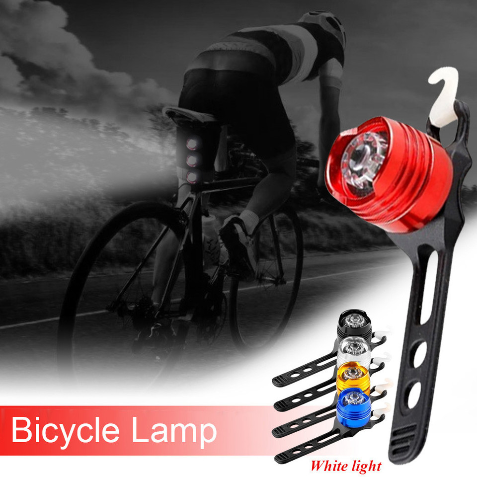 Bicycle Bike Rear Fender Safety Warnning Reflector Tails Cyclings Warning Lig F4