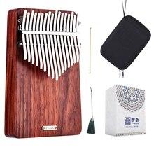 LingTing LT K17A 17 מפתחות קלימבה Mbira אגודל פסנתר (רוח הלוחשת)