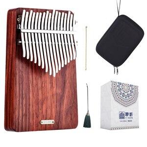 Image 1 - LingTing LT K17A17 keys Kalimba Mbira Thumb Piano(wind whisperer)