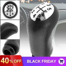 Черная 5 скоростная Автомобильная ручная ручка переключения передач, ручка переключения передач, подходит для Renault/CLIO/MK3 3 III/Megane MK2/Scenic MK2