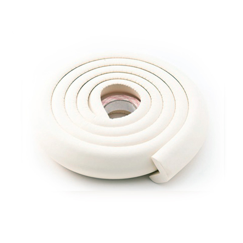 2 м защита для детей Защита для детей угловая защита для детской мебели угловая защита для стола защита углов защита кромок - Цвет: PJ016-BAI