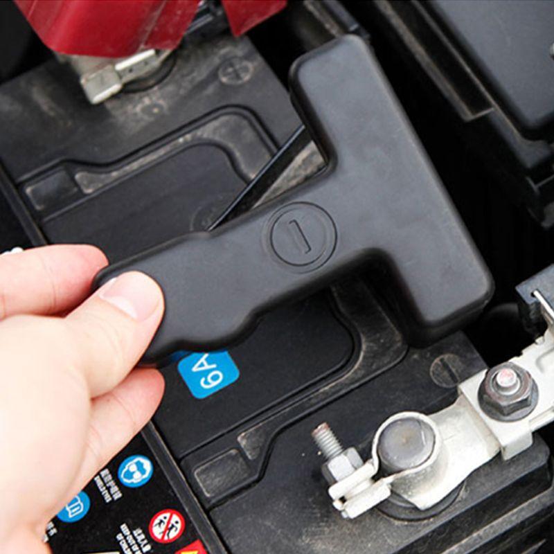 Bateria de carro eletrodo negativo braçadeira terminal capa para nissan altima teana l33 maxima murano 2013-2018 acessórios
