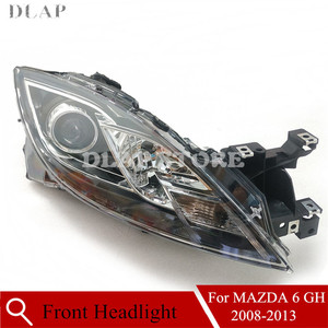Car For MAZDA 6 GH 2008 2009 2010 2011 2012 2013 Left/Right Front Bumper Headlight Headlamp Driving Head Light Head Lamp