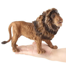 NEW Large Simulation Lion Hollow Model Wild Forest Animal Figure Desktop Decoration Toys Birthday Present Puzzle Cognition Gifts